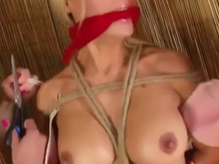 3 girls bondage play