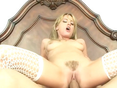 Good Looking Blonde Screwed In Her Sexy Love Hole