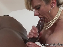 Huge black cock massage 2 - LadySonia