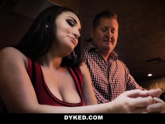 Dyked - Hot Milf Fucks Teen after Bar