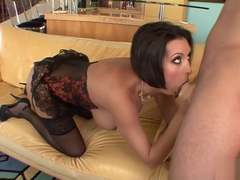 Dylan Ryder in stockings gets nailed