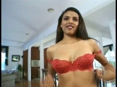 Black Swarthy Latin Chick Angel masturbates for u