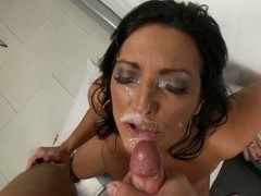 Sammy Brooks - AGED MOMMY DESIRES LARGE FACUAL CUMSHOTS