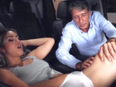 Reality Kings - Older Man Cheats with Babysitter Alina Lopez in his Car