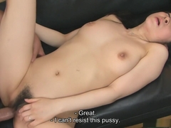 Emiko Koike is fucking her step-son and his best friend