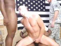 Hot gay army men naked fake first time Staff Sergeant knows what is