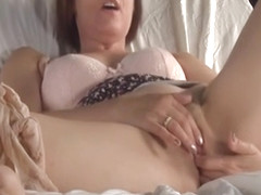 Gorgeous Milf Masturbating - Visible Orgasm Contractions