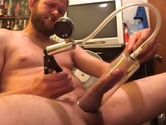 Hot cock jerking