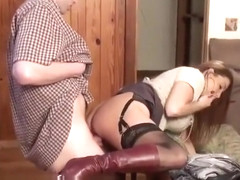 Stacie Starr as aunt Julia fucks church boy