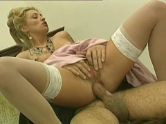 Woman anal fucked by priest
