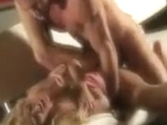 Big boobs blondie babe Tasha Reign sucking and erotic