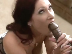 (tiffany mynx) Naughty Milf Get A Monster Black Cock To Ride On Cam vid-30