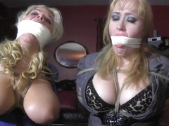 JJ Plush & Julie Simone. Bound  gagged