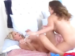 Mila Marx And Tylo Duran Steamy Lesbosex In The Bedroom