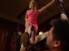 Exotic femdom, fetish xxx scene with hottest pornstars Lorelei Lee and James Riker from Footworship