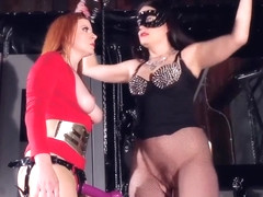 Kimberly Kane Mistress Nylonika Vs Super Fyre in private premium video