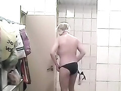 Women spied in shower room