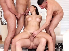 Horny pornstar Billie Star in Exotic Big Tits, Gangbang porn video