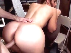 Milf Rachel Rayye with hot gazoo in close-up porn action