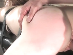 Amazing Madison Young featuring real BDSM action