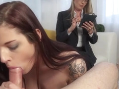 Scarlett Mae Takes Advice From A Pervy Sex Therapist