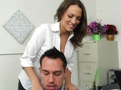 Lily Love & Johnny Castle in Naughty Office