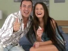 James Brossman and his sexy girlfriend Samantha Rise