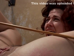 Ingrid Mouth is caned and fucked bdsm