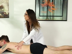 Glam Massage Doctor Sucking Patients Cock