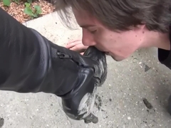 Shoe Worship - Very dirty boots 1