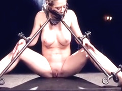 Alluring Cherie Deville in hot BDSM scene
