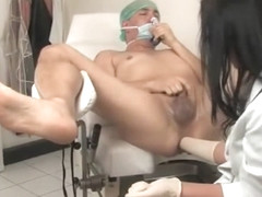 Deep prostate examination ends in fisting