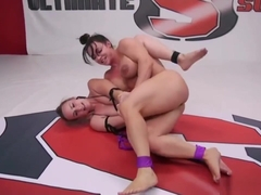 Catfight With Bella Rossi And Brandi Mae