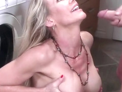 Winsome mom Simone Sonay getting cock been blowed