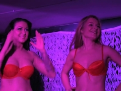 Angel Snow and Debora Rush Lesbian Show