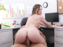 Horny Lily Love Talks Office Orgies At The Water Cooler - NaughtyOffice