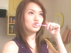 Fabulous Japanese slut Rio Kitajima in Exotic Dildos/Toys, Fetish JAV video