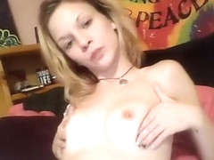 Leah Luv Blonde Babe Masturbate An Old Cock Part 02