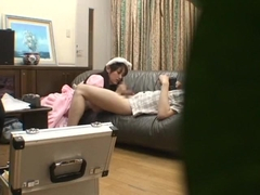Horny Japanese slut Sho Nishino in Best Couple, Handjob JAV video