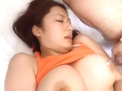 Meisa Hanai Asian doll sucks cock part4