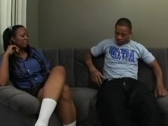 Janae Foxx gives head and gets nailed