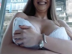 Bigtitted Euro Pickedup For Sex In Truck