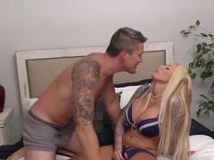 Lolly Ink Gets Another Big Facial From Aaron Wilcoxxx