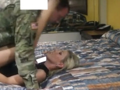 Cheating wife with Soldier