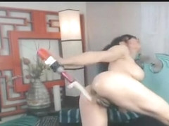 Geiser Squirt Baseball Bat Drill One Pussy