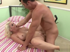 Wife Mandy Sweet Gets Plowed in Front of Her Cuckold Husband
