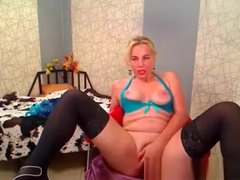 Horny Mature Blonde Wants A Young Man To Fuck