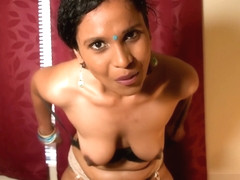 Indian Teacher HornyLily verbally abuses you in Hindi