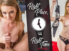 Right Place & Right Time Preview - Ashley Lane - WANKZVR
