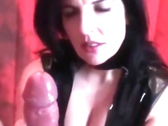 My First Big White Cock Lick job Edge Cum PMV Compilation